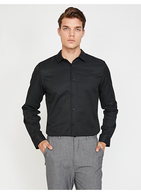 Koton Gömlek Siyah